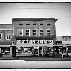 Harrell's was probably the store that had everything you needed back around 1903 when it was first opened.  With a Walmart less than an hour away it has become more of a landmark than an actual department store.