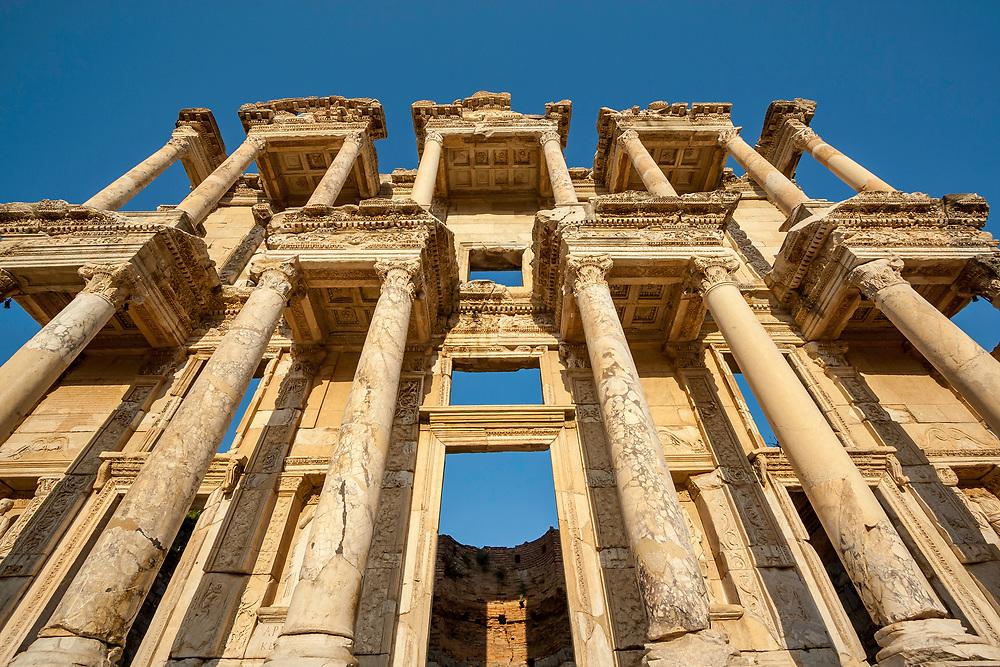 The Library of Celsus, Ephesus, Turkey