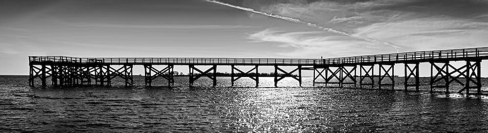 Calf Beach Pier