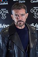 020221 Antonio Banderas Press Conference At Spanish Cinema Academy