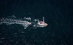 THEMENBILD - ein Segelboot am Meer, aufgenommen am 16. August 2019 in Piran, Slowenien // a sailboat by the sea in Piran, Slovenia on 2019/08/16. EXPA Pictures © 2019, PhotoCredit: EXPA/ JFK