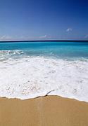 Beach, ocean and surf, Caribbean Sea