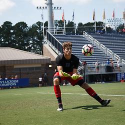 2016-08-28 UNC Asheville at Duke men's soccer