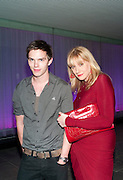 NICHOLAS HOULT; AMY SACCO, An evening at Sanderson to celebrate 10 years of Sanderson, in aid of Clic Sargent. Sanderson Hotel. 50 Berners St. London. W1. 27 April 2010 *** Local Caption *** -DO NOT ARCHIVE-© Copyright Photograph by Dafydd Jones. 248 Clapham Rd. London SW9 0PZ. Tel 0207 820 0771. www.dafjones.com.<br /> NICHOLAS HOULT; AMY SACCO, An evening at Sanderson to celebrate 10 years of Sanderson, in aid of Clic Sargent. Sanderson Hotel. 50 Berners St. London. W1. 27 April 2010