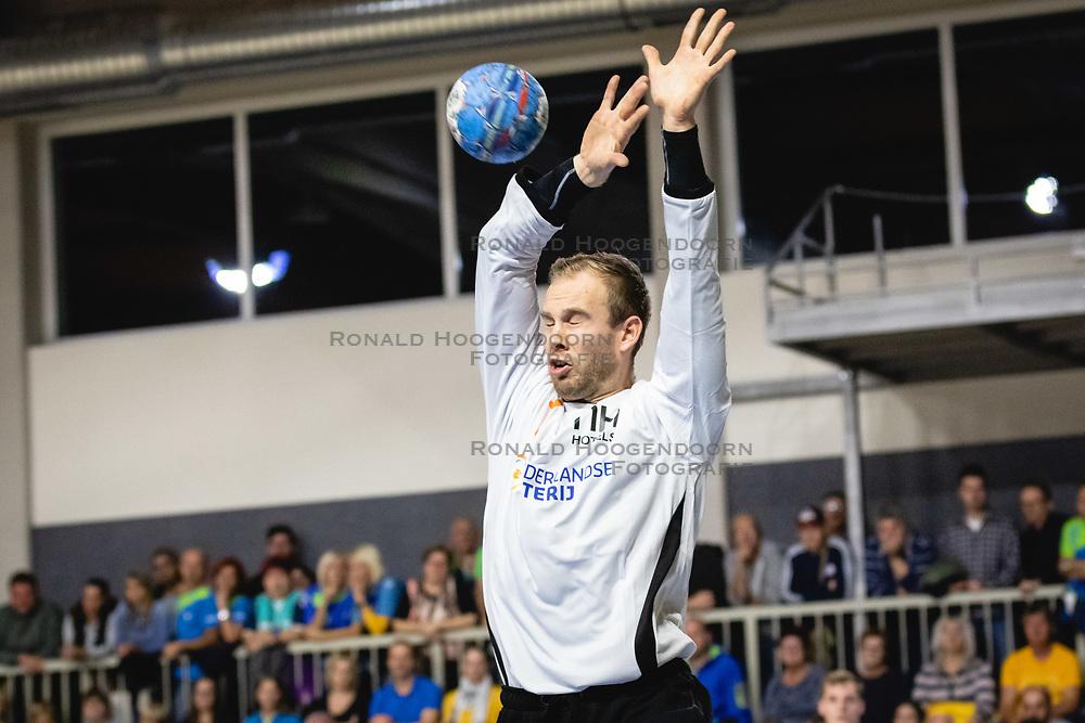 25-10-2019 SLO: Slovenia - Netherlands, Ormoz<br /> Bart Revensbergen of Nederland during friendly handball match between Slovenia and Nederland, on October 25, 2019 in Sportna dvorana Hardek, Ormoz, Slovenia.