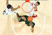 DALLAS, TX - JANUARY 15: Zach LeDay #3 of the South Florida Bulls drives to the basket against the SMU Mustangs on January 15, 2014 at Moody Coliseum in Dallas, Texas.  (Photo by Cooper Neill/Getty Images) *** Local Caption *** Zach LeDay