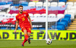 CARDIFF, WALES - Sunday, September 6, 2020: Wales' Tom Lockyer during the UEFA Nations League Group Stage League B Group 4 match between Wales and Bulgaria at the Cardiff City Stadium. (Pic by David Rawcliffe/Propaganda)