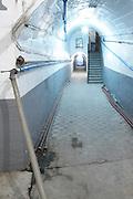 corridor with tubes , Bodegas Otero, Benavente spain castile and leon