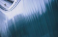 31.12.2019, Olympiaschanze, Garmisch Partenkirchen, GER, FIS Weltcup Skisprung, Vierschanzentournee, Garmisch Partenkirchen, Qualifikation, im Bild Evgeniy Klimov (RUS) // Evgeniy Klimov of Russian Federation during his qualification Jump for the Four Hills Tournament of FIS Ski Jumping World Cup at the Olympiaschanze in Garmisch Partenkirchen, Germany on 2019/12/31. EXPA Pictures © 2019, PhotoCredit: EXPA/ JFK