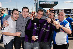 Fans pre match - Photo mandatory by-line: Rogan Thomson/JMP - 07966 386802 - 03/05/2014 - SPORT - FOOTBALL - Memorial Stadium, Bristol - Bristol Rovers v Mansfield Town - Sky Bet League Two. (Note: Mansfield are wearing a Rovers spare kit having forgotten their own).
