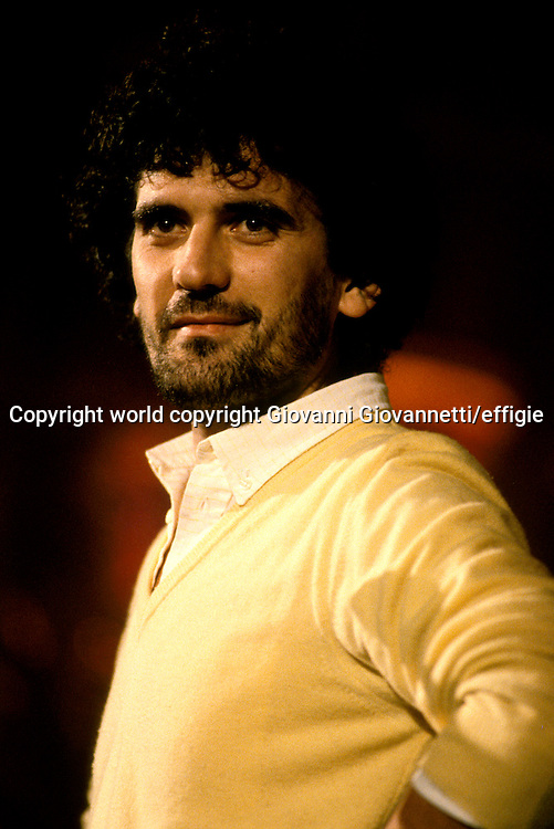 Massimo Troisi<br />world copyright Giovanni Giovannetti/effigie / Writer Pictures<br /> <br /> NO ITALY, NO AGENCY SALES / Writer Pictures<br /> <br /> NO ITALY, NO AGENCY SALES