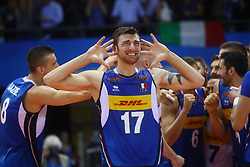 SIMONE ANZANI<br /> <br /> Italy vs Slovenia<br /> Volleyball men's world championship <br /> Florence September 18, 2018