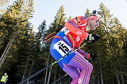 Lowell Bailey (USA) during Men 12,5 km Pursuit at day 3 of IBU Biathlon World Cup 2015/16 Pokljuka, on December 19, 2015 in Rudno polje, Pokljuka, Slovenia. Photo by Vid Ponikvar / Sportida