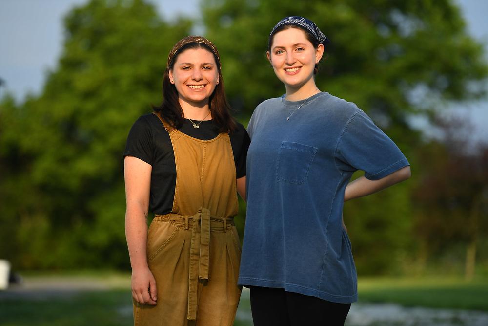 7/6/20 6:53:15 AM  -- Shai Bardin and Carolyn Rogers --    Photo by Jack Gruber