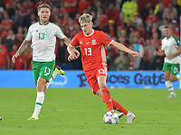 Football - 2018 / 2019 UEFA Nations League B - Group Four: Wales vs. Republic of Ireland<br /> <br /> David Brooks of Wales attacks, at Cardiff City Stadium.<br /> <br /> COLORSPORT/WINSTON BYNORTH