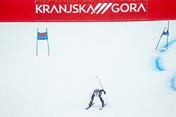 Marta Bassino (ITA) competes during 2nd Run of Ladies' Giant Slalom at 57th Golden Fox event at Audi FIS Ski World Cup 2020/21, on January 16, 2021 in Podkoren, Kranjska Gora, Slovenia. Photo by Vid Ponikvar / Sportida