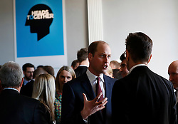 The Duke of Cambridge at the Institute of Contemporary Arts in central London where he outlined the next phase of the mental health Heads Together campaign.