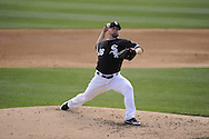 GLENDALE, AZ - MARCH 07:  Jesse Crain #26 of the Chicago White Sox pitches against the Milwaukee Brewers on March 7, 2012 at The Ballpark at Camelback Ranch in Glendale, Arizona. The Brewers defeated the White Sox 10-6.  (Photo by Ron Vesely)  Subject:  Jesse Crain
