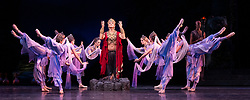 La Bayadere <br /> A ballet in three acts <br /> Choreography by Natalia Makarova <br /> After Marius Petipa <br /> The Royal Ballet <br /> At The Royal Opera House, Covent Garden, London, Great Britain <br /> General Rehearsal <br /> 30th October 2018 <br /> <br /> STRICT EMBARGO ON PICTURES UNTIL 2230HRS ON THURSDAY 1ST NOVEMBER 2018 <br /> <br /> Gary Avis as The High Brahmin <br /> <br /> <br /> Photograph by Elliott Franks Royal Ballet's Live Cinema Season - La Bayadere is being screened in cinemas around the world on Tuesday 13th November 2018 <br /> --------------------------------------------------------------------