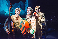 © Licensed to London News Pictures. 05_09/2013. The Tiger Lillies present Rime of the Ancient Mariner in the Queen Elizabeth Hall, on London's Southbank. Featuring Martyn Jacques, Adrian Stout and Mike Pickering. Photo credit: Tony Nandi/LNP
