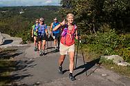 Runners in the Shawangunk Ridge Trail Run/Hike on Sept. 15, 2018.