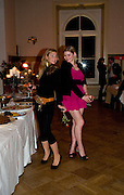 OLIVIA PAUKNER; ANNE-MARIE VON DER GOLTZ, Dinner, Awards ceremony and dancing in aid of the Knights of Malta. Maloja Palace.  St. Moritz, Switzerland. 24 January 2009 *** Local Caption *** -DO NOT ARCHIVE-© Copyright Photograph by Dafydd Jones. 248 Clapham Rd. London SW9 0PZ. Tel 0207 820 0771. www.dafjones.com.<br /> OLIVIA PAUKNER; ANNE-MARIE VON DER GOLTZ, Dinner, Awards ceremony and dancing in aid of the Knights of Malta. Maloja Palace.  St. Moritz, Switzerland. 24 January 2009