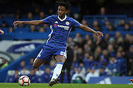 Nathaniel Chalobah of Chelsea in action. The Emirates FA Cup 4th round match, Chelsea v Brentford at Stamford Bridge in London on Saturday 28th January 2017.<br /> pic by Steffan Bowen, Andrew Orchard sports photography.