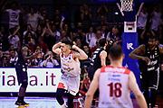 De Vico Nicolo<br /> Grissin Bon Pallacanestro Reggio Emilia - Segafredo Virtus Bologna<br /> Lega Basket Serie A 2017/2018<br /> Reggio Emilia, 09/05/2018<br /> Foto A.Giberti / Ciamillo - Castoria