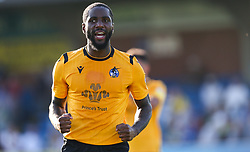 Abu Ogogo of Bristol Rovers celebrates the win at the final whistle - Mandatory by-line: Arron Gent/JMP - 21/09/2019 - FOOTBALL - Cherry Red Records Stadium - Kingston upon Thames, England - AFC Wimbledon v Bristol Rovers - Sky Bet League One
