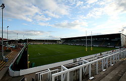 A general view of Kingston Park, home of Newcastle Falcons ahead of the Aviva Premiership Season opener against Worcester Warriors - Mandatory by-line: Robbie Stephenson/JMP - 01/09/2017 - RUGBY - Kingston Park - Newcastle upon Tyne, England - Newcastle Falcons v Worcester Warriors - Aviva Premiership