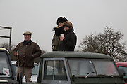 MARTIN STRUTT; ALICE BUCK; TILLY MILLER-MUNDY;; , Heythrop Point to Point. At a  new course at Cocklebarrow near Aldsworth. 11 January 2014