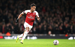 Arsenal's Pierre-Emerick Aubameyang during the FA Cup, Fourth Round match at the Emirates Stadium, London.