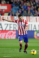 27.10.2013, Estadio Vicente Calderon, Madrid, ESP, Primera Division, Atletico Madrid vs Real Betis, 10. Runde, im Bild Atletico de Madrid's David Villa // Atletico de Madrid's David Villa during the Spanish Primera Division 10th round match between Club Atletico de Madrid and Real Betis at the Estadio Vicente Calderon in Madrid, Spain on 2013/10/28. EXPA Pictures © 2013, PhotoCredit: EXPA/ Alterphotos/ Victor Blanco<br /> <br /> *****ATTENTION - OUT of ESP, SUI*****
