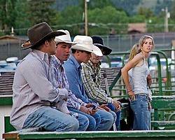 Cowboys, Jackson Hole Rodeo