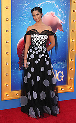 Camila Alves, Universal Pictures film premiere for Sing at LA Live (Los Angeles, CA.)