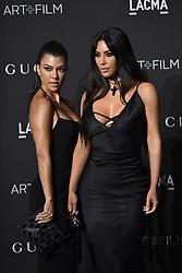 Kim Kardashian and Kourtney Kardashian attend the 2018 LACMA Art + Film Gala at LACMA on November 3, 2018 in Los Angeles, CA, USA. Photo by Lionel Hahn/ABACAPRESS.COM