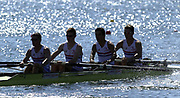 ©  Peter Spurrier Sports Photo<br /> email pictures@rowingpics.com<br /> tel +44 (0)7973 819551<br /> Photo Peter Spurrier<br /> 08/08/2002<br /> Sport - Rowing<br /> World Junior Rowing Championships<br /> GBR JM4+