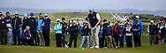 Caolan Rafferty (Dundalk) on the 18th green during Round 4 of The West of Ireland Open Championship in Co. Sligo Golf Club, Rosses Point, Sligo on Sunday 7th April 2019.<br /> Picture:  Thos Caffrey / www.golffile.ie
