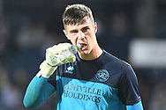 QPR goalkeeper Joe Walsh (32) during the EFL Sky Bet Championship match between West Bromwich Albion and Queens Park Rangers at The Hawthorns, West Bromwich, England on 24 September 2021.