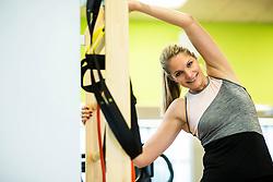 Portrait of Tanja Blatnik, former Slovenian swimmer, on December 14, 2018 in Ljubljana, Slovenia. Photo by Vid Ponikvar / Sportida