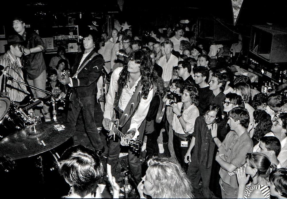 True Believers, Lone Star Cafe, New Music Seminar Showcase, July 1986, New York, New York