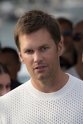 Tom Brady attends the Tag Heuer gala night (Don't crack under pressure) aboard a boat at Port Hercule during the 76th Grand Prix of Monaco in Monaco, on may 26, 2018. Photo by Marco Piovanotto/ABACAPRESS.COM