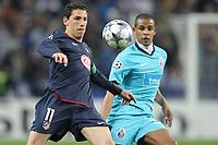 20090311: PORTO, PORTUGAL - FC Porto vs Atletico de Madrid: Champions League 2008/2009 - Round of 16. In picture: rodriguez and fernando  . PHOTO: Ricardo Estudante/CITYFILES