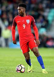 Daniel Sturridge of England runs with the ball - Mandatory by-line: Robbie Stephenson/JMP - 11/10/2016 - FOOTBALL - RSC Stozice - Ljubljana, England - Slovenia v England - World Cup European Qualifier
