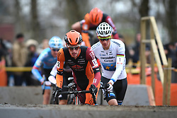 January 5, 2019 - Gullegem, BELGIUM - Belgian Jens Adams pictured in action during the men elite race of the Gullegem Cyclocross, Saturday 05 January 2019 in Gullegem, Belgium. BELGA PHOTO DAVID STOCKMAN (Credit Image: © David Stockman/Belga via ZUMA Press)