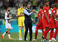 Football - 2018 FIFA World Cup - Group G: England vs. Tunisia<br /> <br /> England manager Gareth Southgate is seen at full time at Volgograd Arena, Volgograd.<br /> <br /> COLORSPORT/IAN MACNICOL