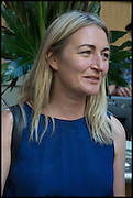 Louise Mckinney, Drinks party to launch this year's Frieze Masters.Hosted by Charles Saumarez Smith and Victoria Siddall<br />  Academicians' room - The Keepers House. Royal Academy. Piccadilly. London. 3 July 2014