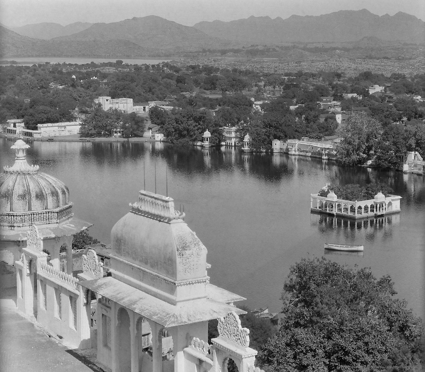 View of Pichola Lake from Udaipur Palace Roof, Udaipur, India, 1929