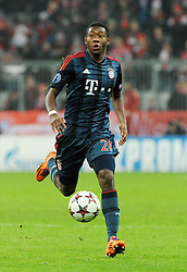 10.12.2013, Allianz Arena, Muenchen, GER, UEFA CL, FC Bayern Muenchen vs Manchester City, Gruppe D, im Bild David Alaba (FC Bayern Muenchen), Freisteller // during UEFA Champions League group D match between FC Bayern Munich and Manchester City at the Allianz Arena in Muenchen, Germany on 2013/12/11. EXPA Pictures © 2013, PhotoCredit: EXPA/ Eibner-Pressefoto/ Stuetzle<br /> <br /> *****ATTENTION - OUT of GER*****