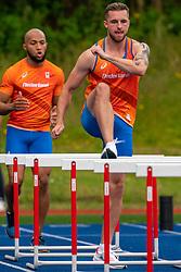 Joris van Gool in action during the Press presentation of the olympic team Athletics on July 8, 2021 in Papendal Arnhem